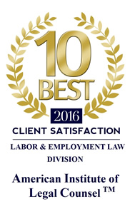 SuAnne Hardee Bryant: American Institute of Legal Counsel for Best 10 of Virginia – Labor and Employment Law
