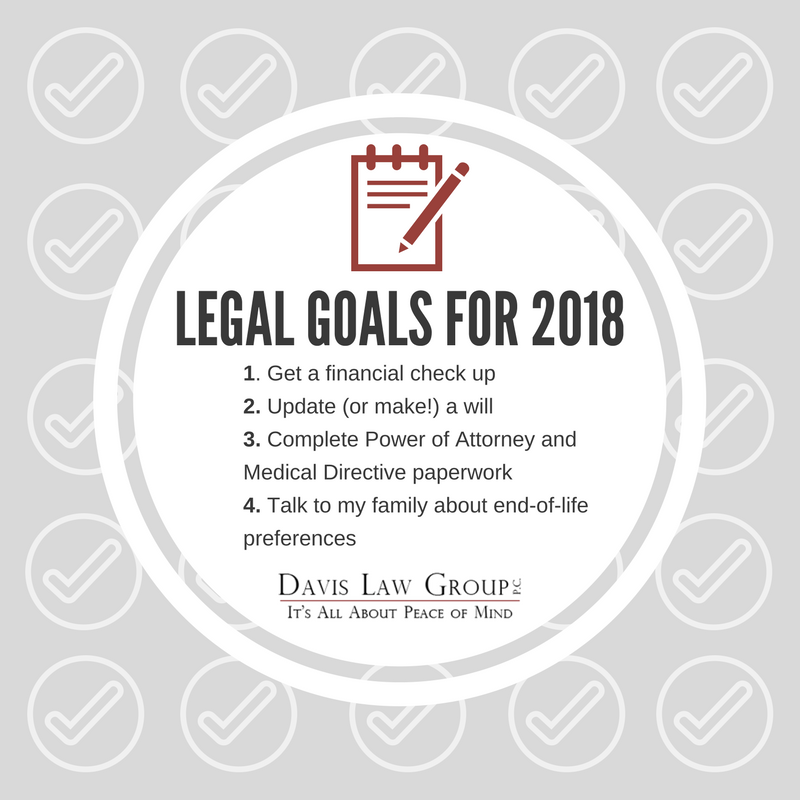 legal resolutions for 2018