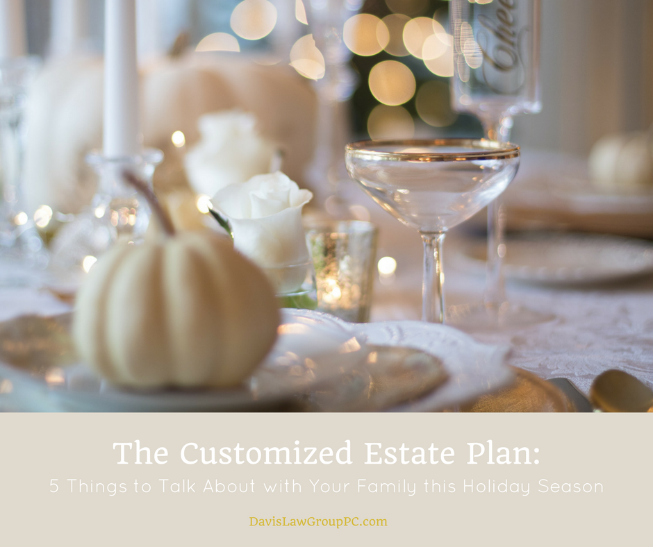 The Customized Estate Plan_