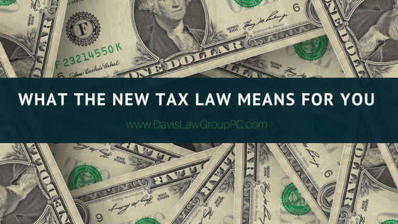 What the New Tax Act Means for You